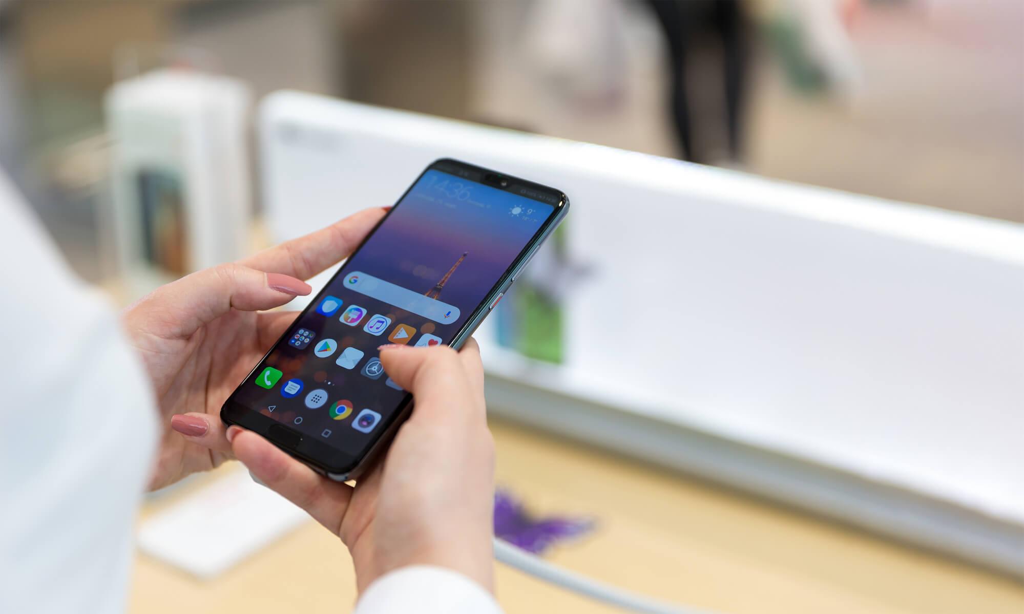 Huawei mobil på afbetaling